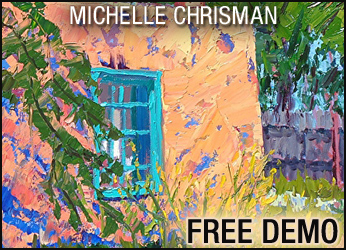 FREE DEMO: Still Life Painting in Palette Knife with Oils @ Santa Fe   New Mexico   United States