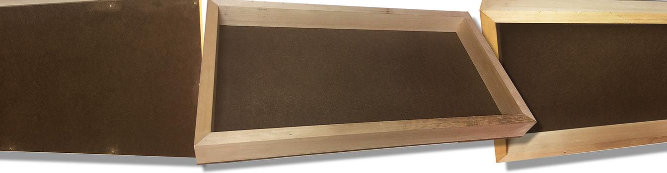 & Artisan Santa Fe   Custom Cradled Hardboard Panels