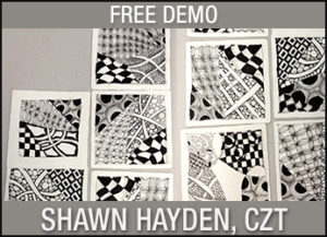 FREE DEMO: What is Zentangle? @ Santa Fe | New Mexico | United States