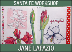 Sketching and Watercolor in Your Own Handmade Journal @ Santa Fe | New Mexico | United States